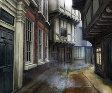Doctor Who Series 9, Face the Raven, Trap Street, concept art